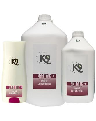 K9 Keratin+ Moist Conditioner - odżywka intensywnie nawilżająca z dodatkiem keratyny, koncentrat 1:40