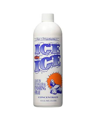 Chris Christensen Ice On Ice 475ml - wielozadaniowa odżywka bez spłukiwania, z filtrem przeciwsłonecznym, koncentrat 1:15