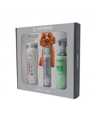 Artero Cosmetic Pack for Poodle - zestaw kosmetyków dla psa z kręconą i wełniastą sierścią