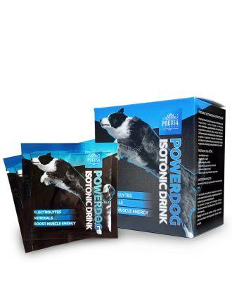 Pokusa PoweDog Isotonic Drink 12x8g - preparat izotoniczno-energetyczny dla psów, saszetki