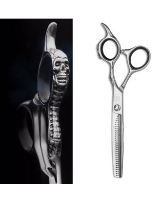"""Artero Mystery Thinning 6"""" - profesjonalne degażówki jednostronne z ozdobną rękojeścią, stal japońska 30 ząbków"""