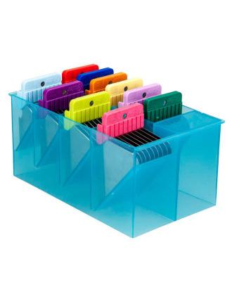 Oster - zestaw 10 nasadek dystansowych ze stali nierdzewnej + kasetka do przechowywania