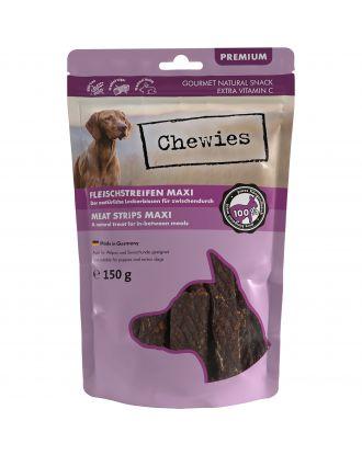 Chewies Meat Strips Maxi 150g - przysmak dla szczeniąt i starszych psów, kangur
