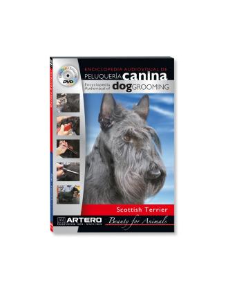 Artero DVD - film o strzyżeniu/pielęgnacji rasy Terrier Szkocki