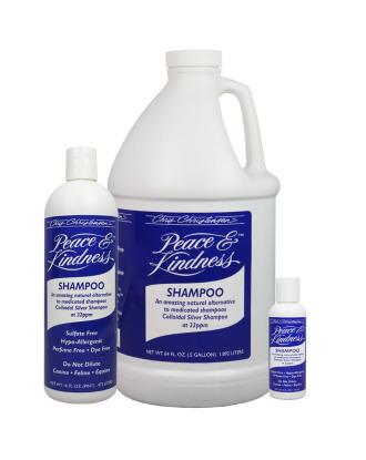 Chris Christensen Peace & Kindness Shampoo - skuteczny szampon leczniczy ze srebrem koloidalnym dla psów, kotów i koni