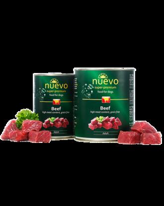 Nuevo Adult Beef - mokra karma dla psa dorosłego z wołowiną